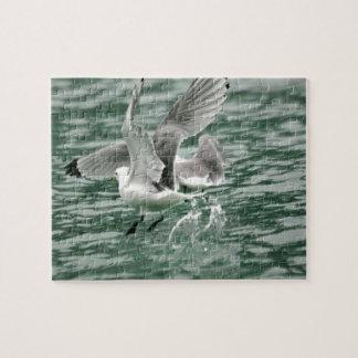 "8"" x 10"" Puzzle 110 pieces w/ seagulls"