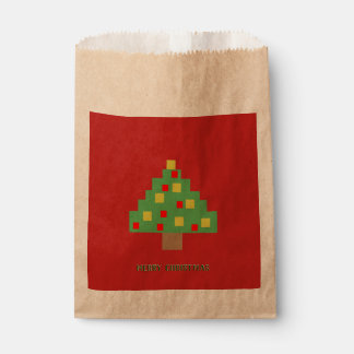 8bit Christmas Favour Bag