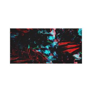 8bit dreams canvas print