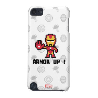 8Bit Iron Man - Armor Up! iPod Touch 5G Cases