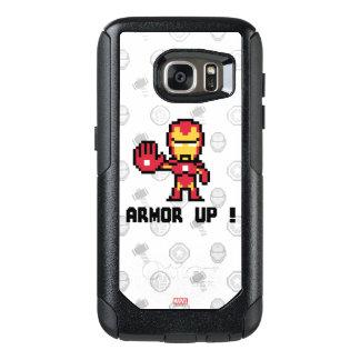 8Bit Iron Man - Armor Up! OtterBox Samsung Galaxy S7 Case