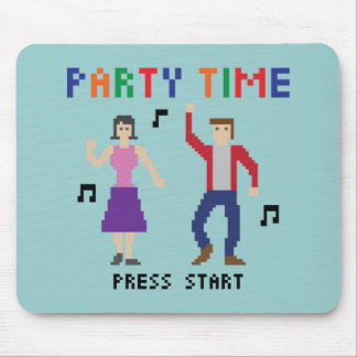 8bits Party Time Mousepad
