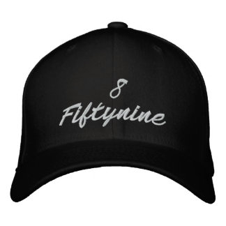 8fiftynine collection LAT edition fitted cap Embroidered Baseball Cap