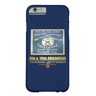 8th & 19th Arkansas Infantry (F10) Barely There iPhone 6 Case