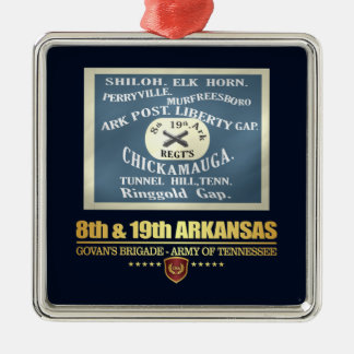 8th & 19th Arkansas Infantry (F10) Metal Ornament