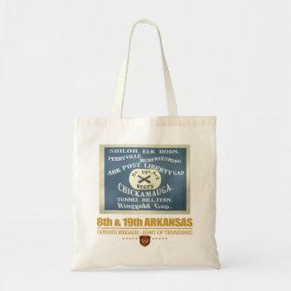 8th & 19th Arkansas Infantry (F10) Tote Bag