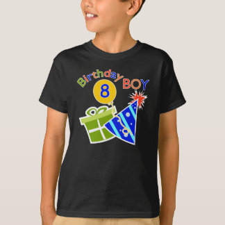 8th Birthday - Birthday Boy T-Shirt