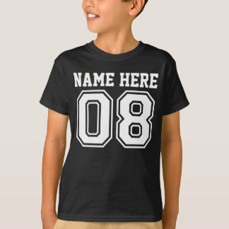 8th Birthday (Customizable Kid's Name) T-Shirt