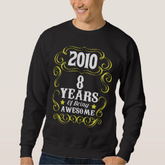 8th Birthday Shirt For Girls/Boys.