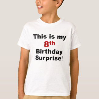 8th Birthday Surprise T-Shirt