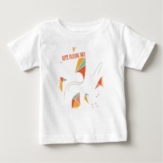8th February - Kite Flying Day - Appreciation Day Baby T-Shirt