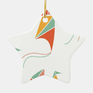 8th February - Kite Flying Day - Appreciation Day Ceramic Ornament