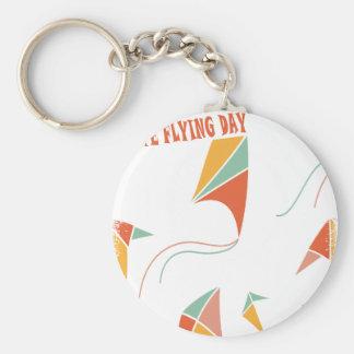 8th February - Kite Flying Day - Appreciation Day Key Ring