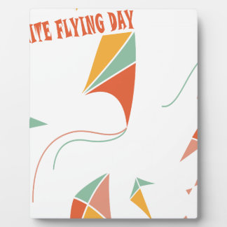 8th February - Kite Flying Day - Appreciation Day Plaque