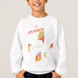 8th February - Kite Flying Day - Appreciation Day Sweatshirt