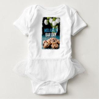 8th February - Molasses Bar Day - Appreciation Day Baby Bodysuit