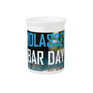 8th February - Molasses Bar Day - Appreciation Day Pitcher