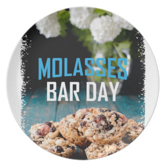 8th February - Molasses Bar Day - Appreciation Day Plate