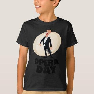 8th February - Opera Day - Appreciation Day T-Shirt