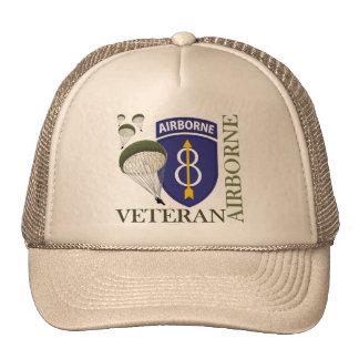 8th Infantry Division Airborne Cap