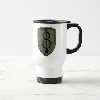 8th infantry fort jackson vets veterans lrrps travel mug