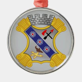 8th Infantry Regiment - DUI Metal Ornament