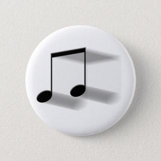 8th Note Blur Button