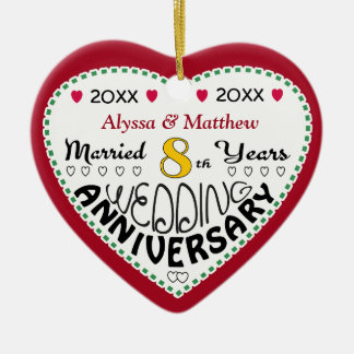8th Wedding Anniversary GiftsT-Shirts, Art, Posters & Other Gift ...