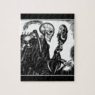 8x10 Grim Reaper Puzzle with Gift Box