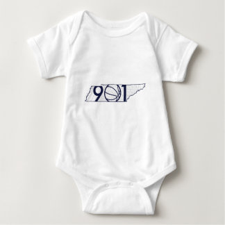 901 Basketball Baby Bodysuit