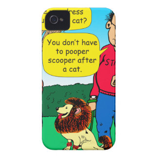 901 Why is dog dressed like a cat cartoon iPhone 4 Case