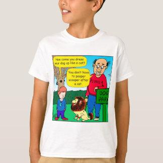 901 Why is dog dressed like a cat cartoon T-Shirt