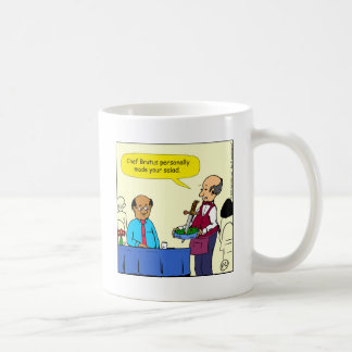 904 Chef Brutus made the salad cartoon Coffee Mug