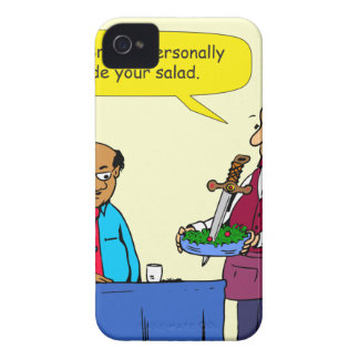 904 Chef Brutus made the salad cartoon iPhone 4 Cover