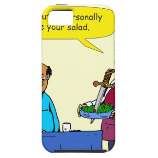 904 Chef Brutus made the salad cartoon iPhone 5 Covers