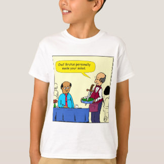 904 Chef Brutus made the salad cartoon T-Shirt