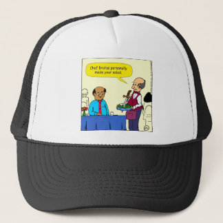 904 Chef Brutus made the salad cartoon Trucker Hat
