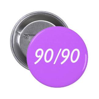 90/90 6 CM ROUND BADGE