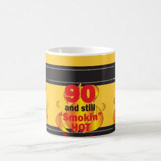 90 and Still Smokin Hot   90th Birthday Coffee Mug