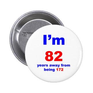 90 Birthday 6 Cm Round Badge