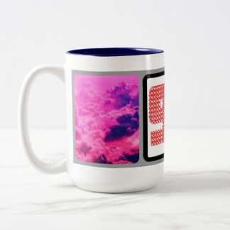 90 in 90 Two-Tone coffee mug