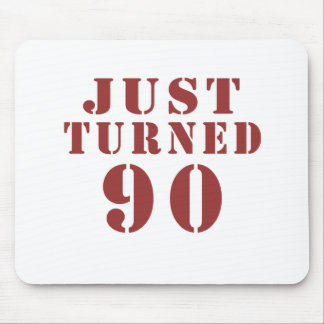 90 Just Turned Birthday Mouse Pad