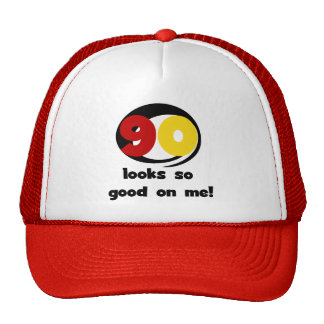 90 Looks So Good On Me T-shirts and Gifts Hat