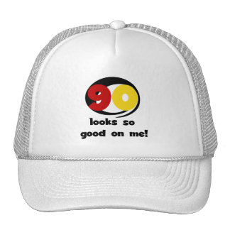 90 Looks So Good On Me T-shirts and Gifts Mesh Hat