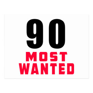90 Most Wanted Funny Birthday Design Post Card