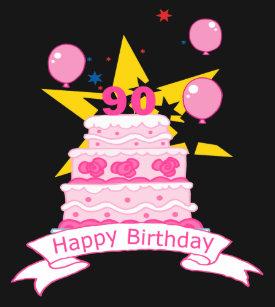 90 Year Old Birthday Cake Gifts On Zazzle AU