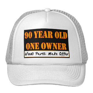 90 Year Old, One Owner - Needs Parts, Make Offer Mesh Hat