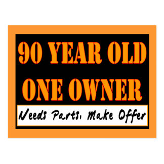90 Year Old, One Owner - Needs Parts, Make Offer Postcard
