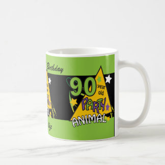 90 Year Old Party Animal | 90th Birthday Coffee Mug