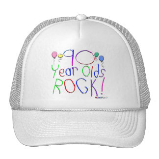 90 Year Olds Rock ! Trucker Hat